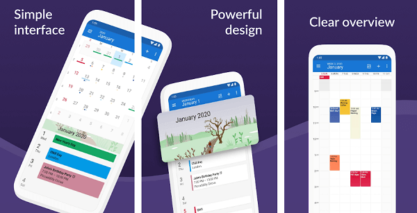 DigiCal Calendar Agenda app for android