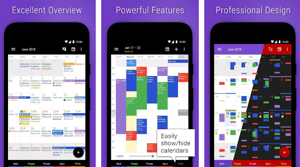 Business Calendar 2 app for android