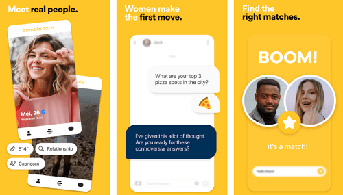 bumble app for android and ios