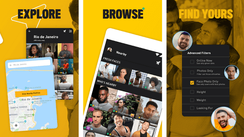 grindr gay dating app for android and ios